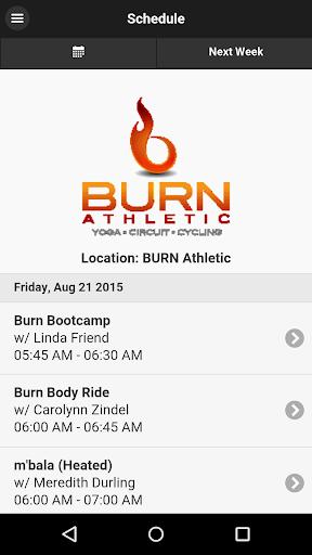 Burn Athletic