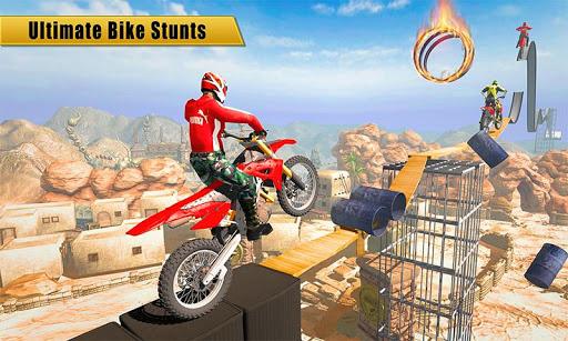 Bike Stunt Tricky & Trail Racer 2018 1.10 screenshots 1