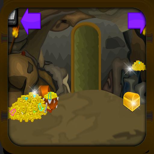 Adventure Game Treasure Cave