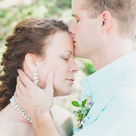 by Hilary Sharp - Wedding Bride & Groom