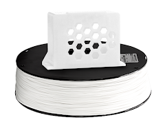 White PRO Series PETG Filament - 1.75mm (10lb)