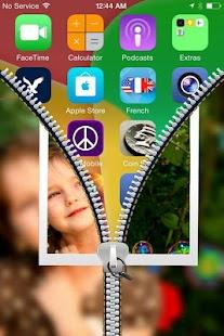 PIP Zipper Lock Screen screenshot