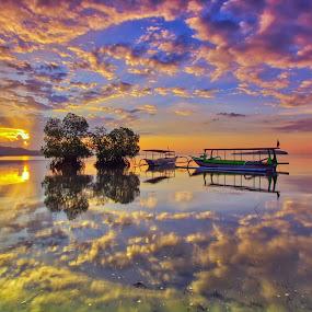 Lombok Landscape by Made Thee - Landscapes Sunsets & Sunrises