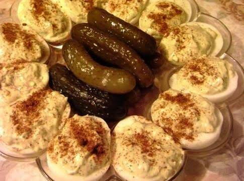 Tangy Deviled Eggs With Horseradish Recipe