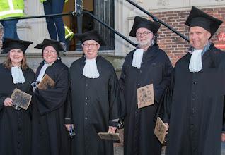 Photo: Stempelaars in Franiker