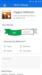 SitOrSquat: Restroom Finder- miniatura screenshot