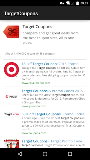 Coupons for Target