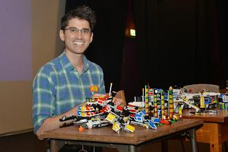 Photo: Jamie and his Fairground Mixer