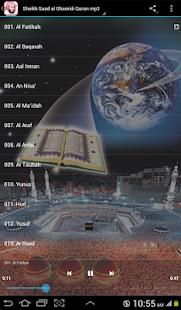 Al Ghamidi Quran MP3 Offline - náhled