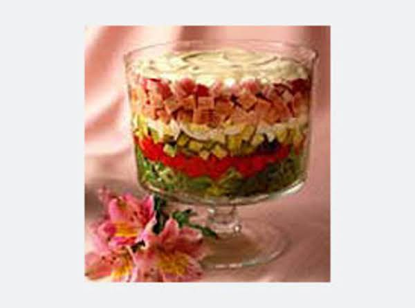 Day After Easter Day Layered Salad Recipe