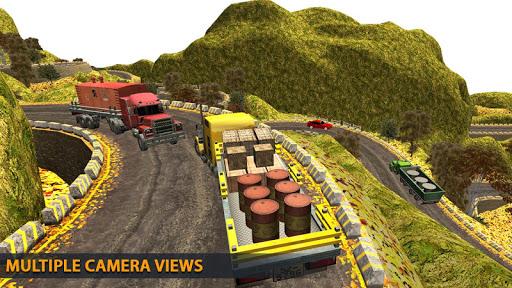 Truck Driving Uphill : Truck simulator games 2020 apktram screenshots 6
