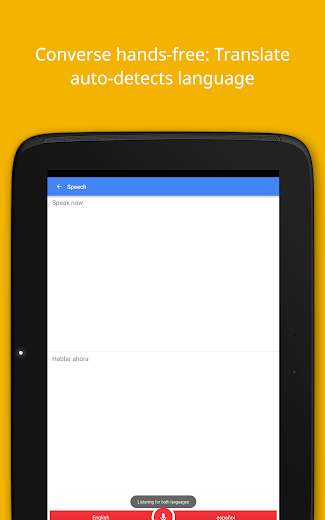 Screenshot 8 for Google Translate's Android app'