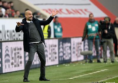 """Guardiola: """"Je suis content du rendement de mon équipe"""""""