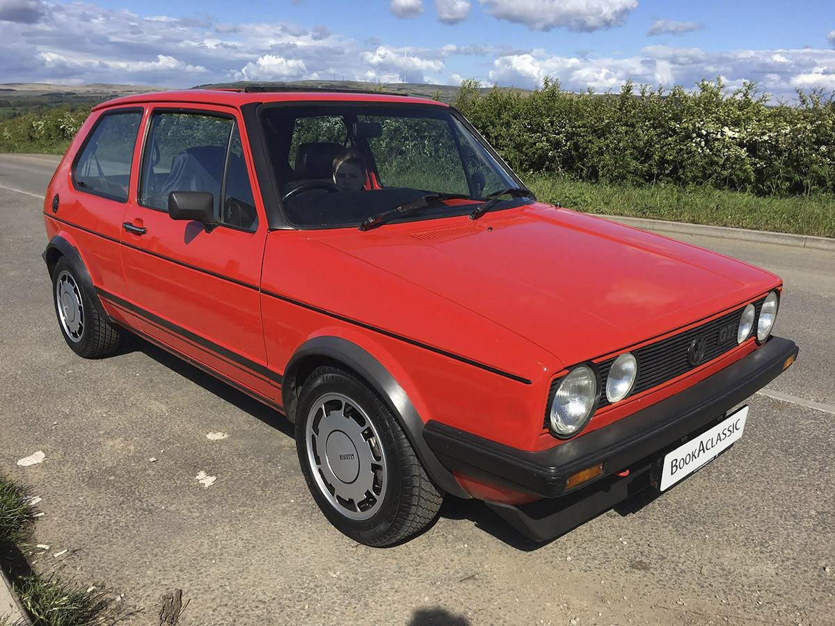 Volkswagen Golf Gti Mk1 Campaign Hire Wigan