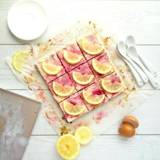 Raspberry Lemon Cheesecake Bars