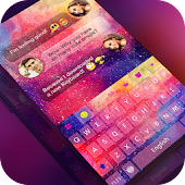 Keyboard -Boto:Colorful Galaxy