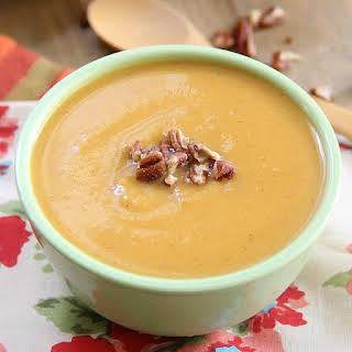 Apple Sweet Potato Soup.