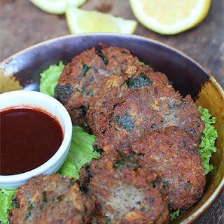 Sardines Fritters with Soy-Sriracha Dipping Sauce