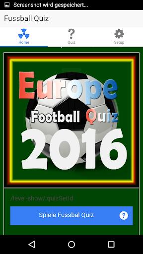 Europa Fussball Quiz 2016