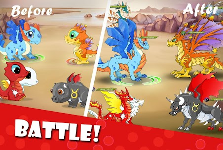 Dragon Battle MOD APK (Unlimited Money) 2