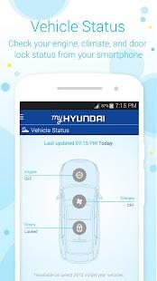 MyHyundai with Blue Link Screenshot 4