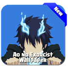 Blue Anime Wallpaper Exorcist icon