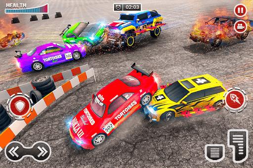 Demolition Car Derby Stunt 2020: New Car Game 2k20 apktram screenshots 15