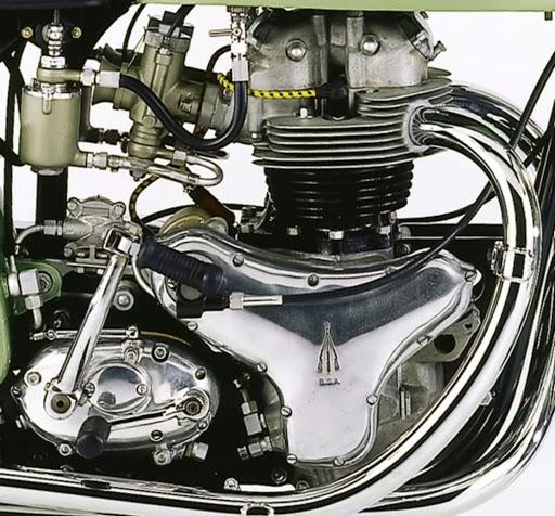 500 BSA engine winners to Daytona in 1954.
