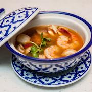 Lemon Shrimp Soup