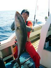 Photo: やったね! イシカワさん! 13.7kgでしたかねー。