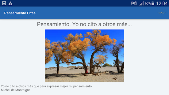 Download Pensamiento Citas y frases famosas For PC Windows and Mac apk screenshot 13