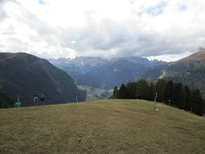 Photo: The ski hill drive up site near Canazei