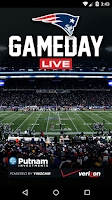 Screenshot of Patriots Gameday Live