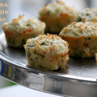 Semolina Vegetable Muffins.