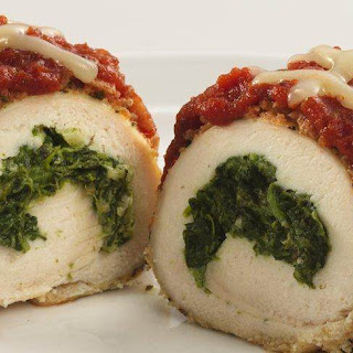 Skinny Stuffed Chicken Parmesan