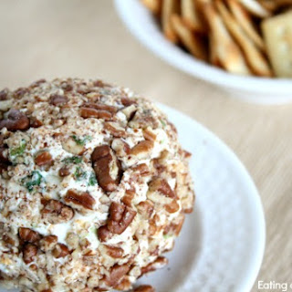 Garlic and Onion Cheddar Cheese Ball