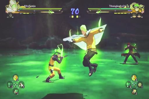 Trick Naruto Ultimate Ninja Strom 4 New Fight 1.0 screenshots 1