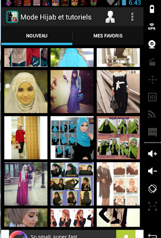 android Mode Hijab 2016 et tutoriels Screenshot 2