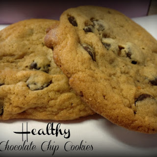 My Version Healthy Chocolate Chip Cookie.