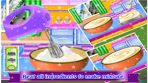 Cosmetic Box Cake Cooking image | 4