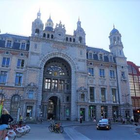 世界一美しい駅!?宮殿のようなベルギー・アントワープ中央駅