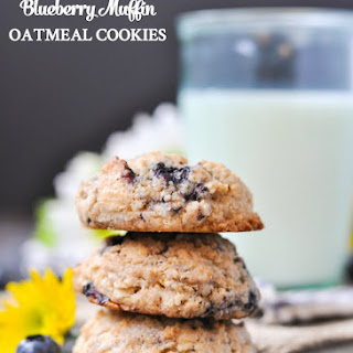 Blueberry Muffin Oatmeal Cookies.