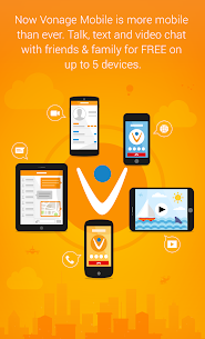 Vonage Mobile® Call Video Text 2