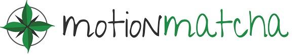Motion Matcha matcha green tea logo