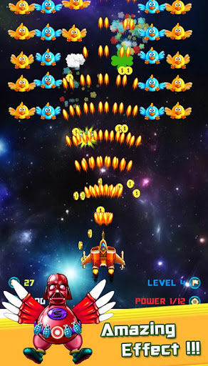 Chickens Shooter - Space Attack 1.1.03 screenshots 5
