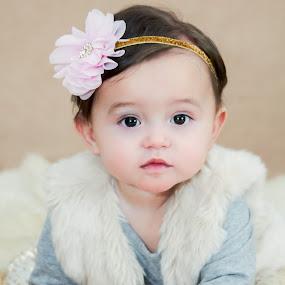 Kaylani by Jenny Hammer - Babies & Children Babies ( face, sweet, girl, baby, cute )