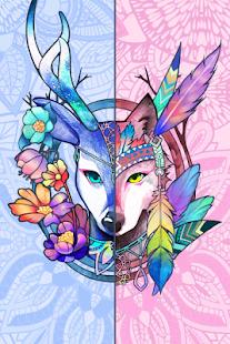 Two Eyes - Nonogram - náhled