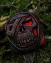 Artkey - Black & Red Mumkey