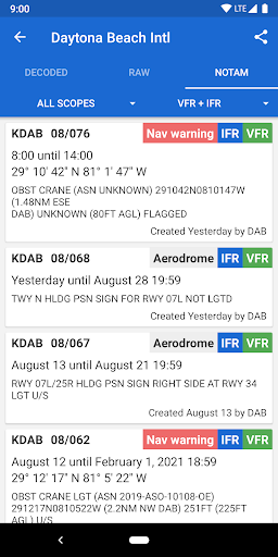 Avia Weather - METAR & TAF 2.11.6 Screenshots 4