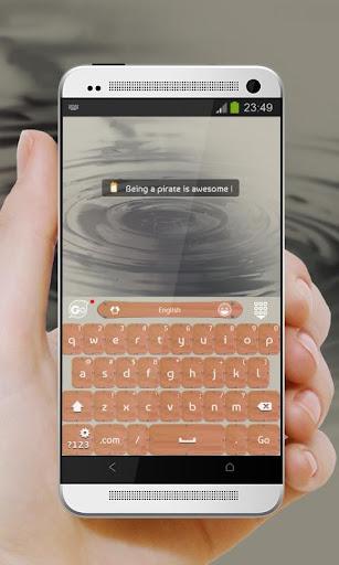 【免費個人化App】甲板上的海盜 GO Keyboard-APP點子